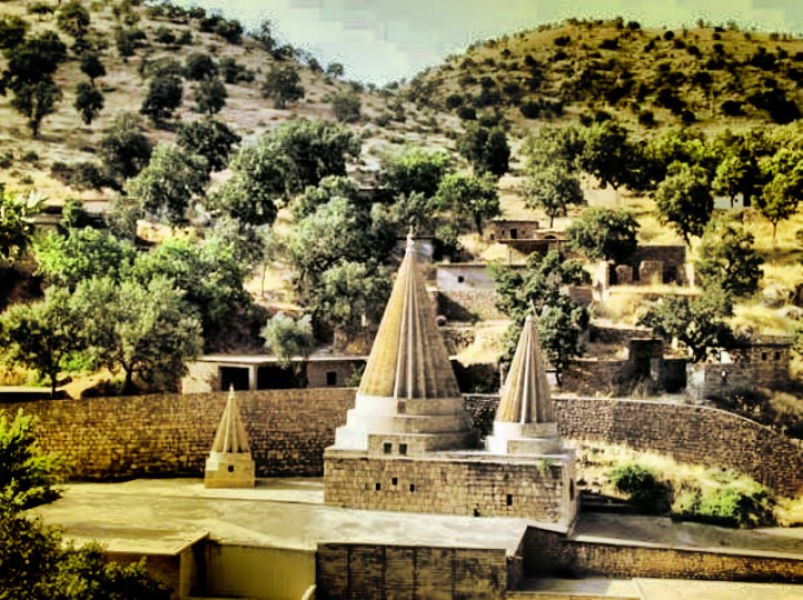 A Kurd temple of the Yazidi, many of whom have fled to Mount Sinjar. (Photo: Jan Sefti / Flickr)