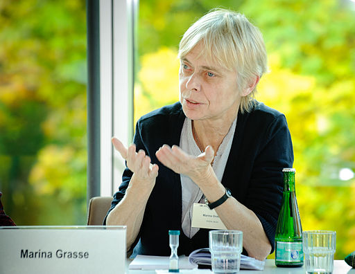 Marina Grasse helped found East-West European Women's Network. (Photo: Heinrich-Böll-Stiftung / Wikimedia)