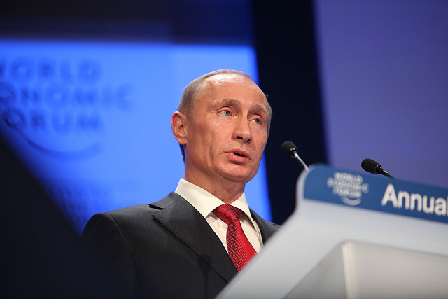 Vladimir Putin. (Photo: Monika Flueckiger / Flickr)