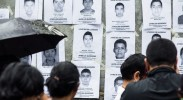 Pictures of the disappeared; photo by Jorge Mejia Peralta via Flickr