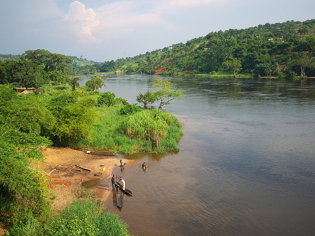 The Ebola River, similar to the one pictured, gave its name to the virus. (Photo: Nick Hobgood / Flickr Commons)