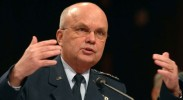 Former CIA Director Michael Hayden feels like he's being treated unfairly in the Senate Intelligence Agency report on torture. (Photo: Kevin Wolf / AP)