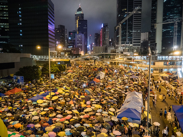 The goals of the Umbrella Movement did not resonate with much of Hong Kong's public. (Photo: Pasu Au Yeung / Flickr Commons)
