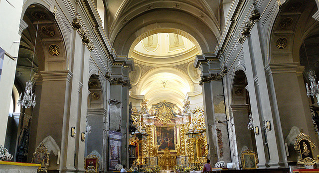 The church of St. Bernardino of Siena in Kraków, Poland. (Photo: Magro / Flickr Commons)