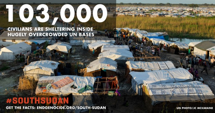 The refugee camp in Bentiu, South Sudan. (Photo: UN)