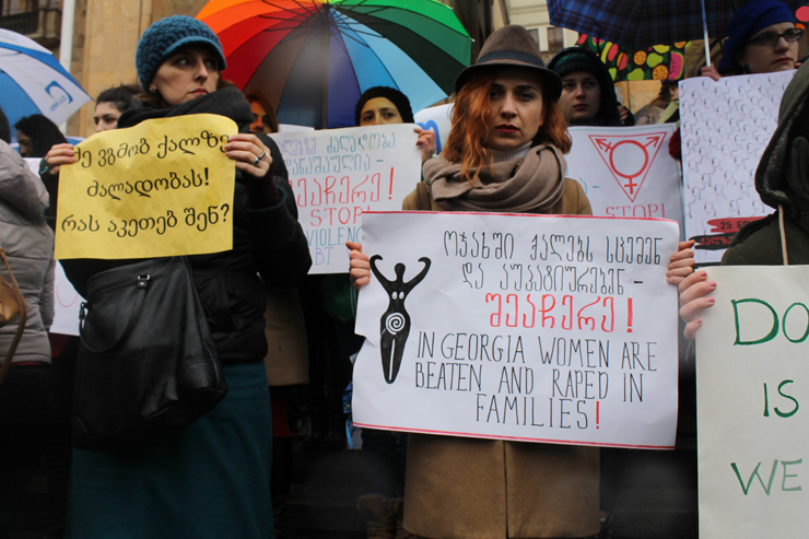 A New Women's Movement in Georgia Takes on Misogynistic Violence