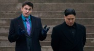 James Franco and Randall Park in The Interview