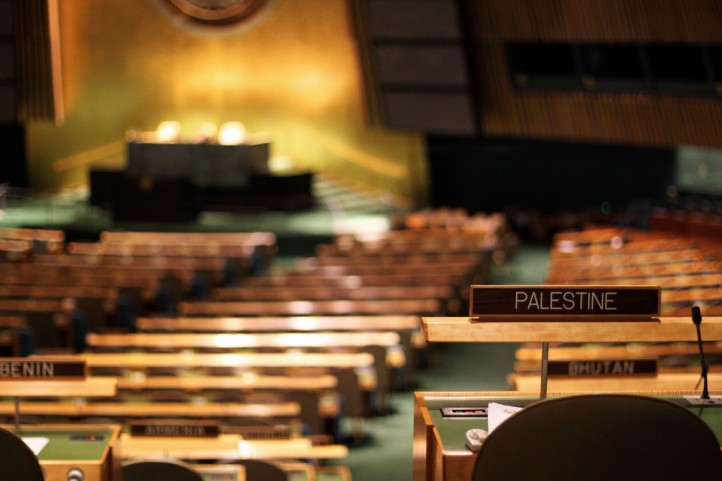 Palestine at the UN. Photo by real.tingley via Flickr