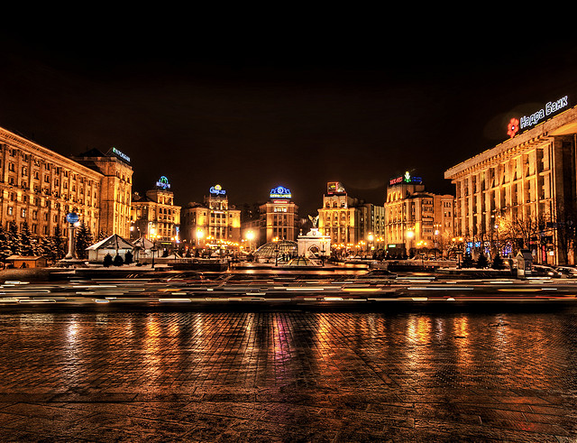 Ukraine claims it doesn't have the grain because many of is agricultural workers have been conscripted into the army. Pictured: Kiev. (Photo: Trey Ratcliff / Flickr Commons)
