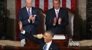 Obama delivers his 2015 State of the Union address.