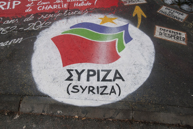 The Syriza government has made it clear that Greece is finished with the austerity policies that crashed its economy. (Photo: Thierry Ehrmann / Flickr)