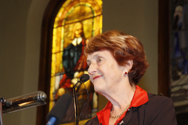 Dr. Helen Caldicott remains a leading light in the disarmament movement. (Photo: Paul Rifkin / Flickr Commons)