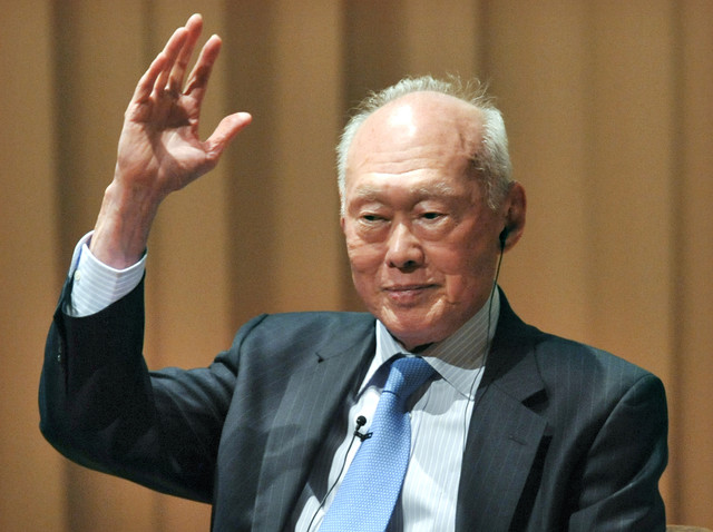 Singapore founder Lee Kuan Yew established a system of succession that made his signature authoritarian style sustainable. (Photo:  Bloomberg)