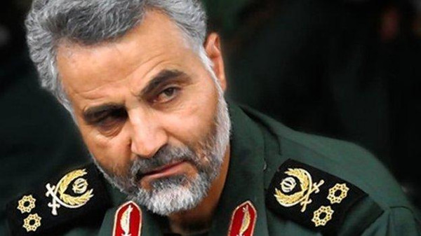 Maj. Gen. Qassim Suleimani, the head of Iran's Quds Force, was observed drinking tea on the front lines of the war with the Islamic State. (Photo: BBC)