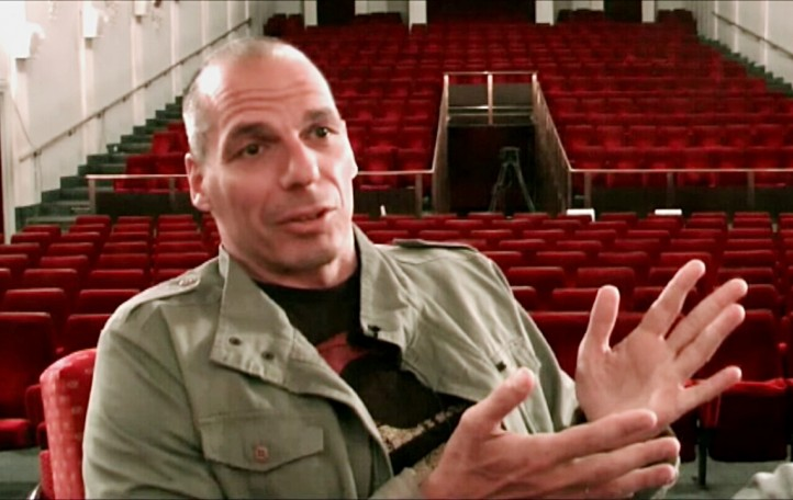 Can Greek Prime Minister Alexis Tsipras and his finance minister Yanis Varoufakis (pictured) repeat the Greek army's success of 480 B.C.E. at Salamis and best what looks like another unbeatable foe? (Photo: Subversive Interview / Wikimedia Commons)