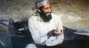Osama bin Laden in his happy cave days. (Photo: The Telegraph)