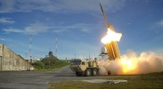 A test of THAAD interceptors