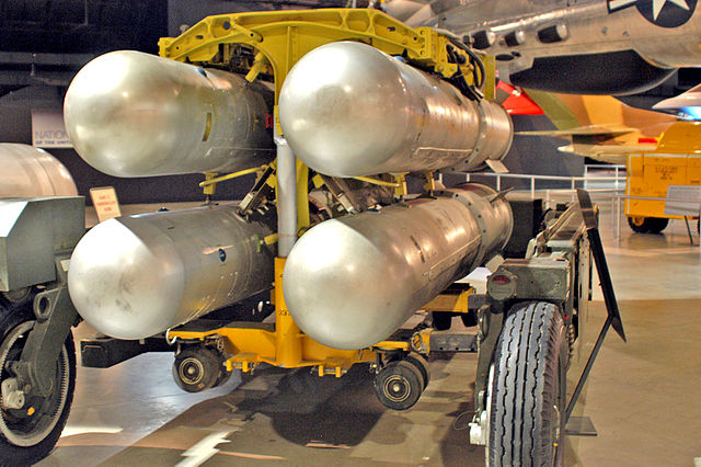 Realists are reluctant to support disarmament lest their credibility be threatened. Pictured: thermonuclear bombs. (Photo: Wikimedia Commons)