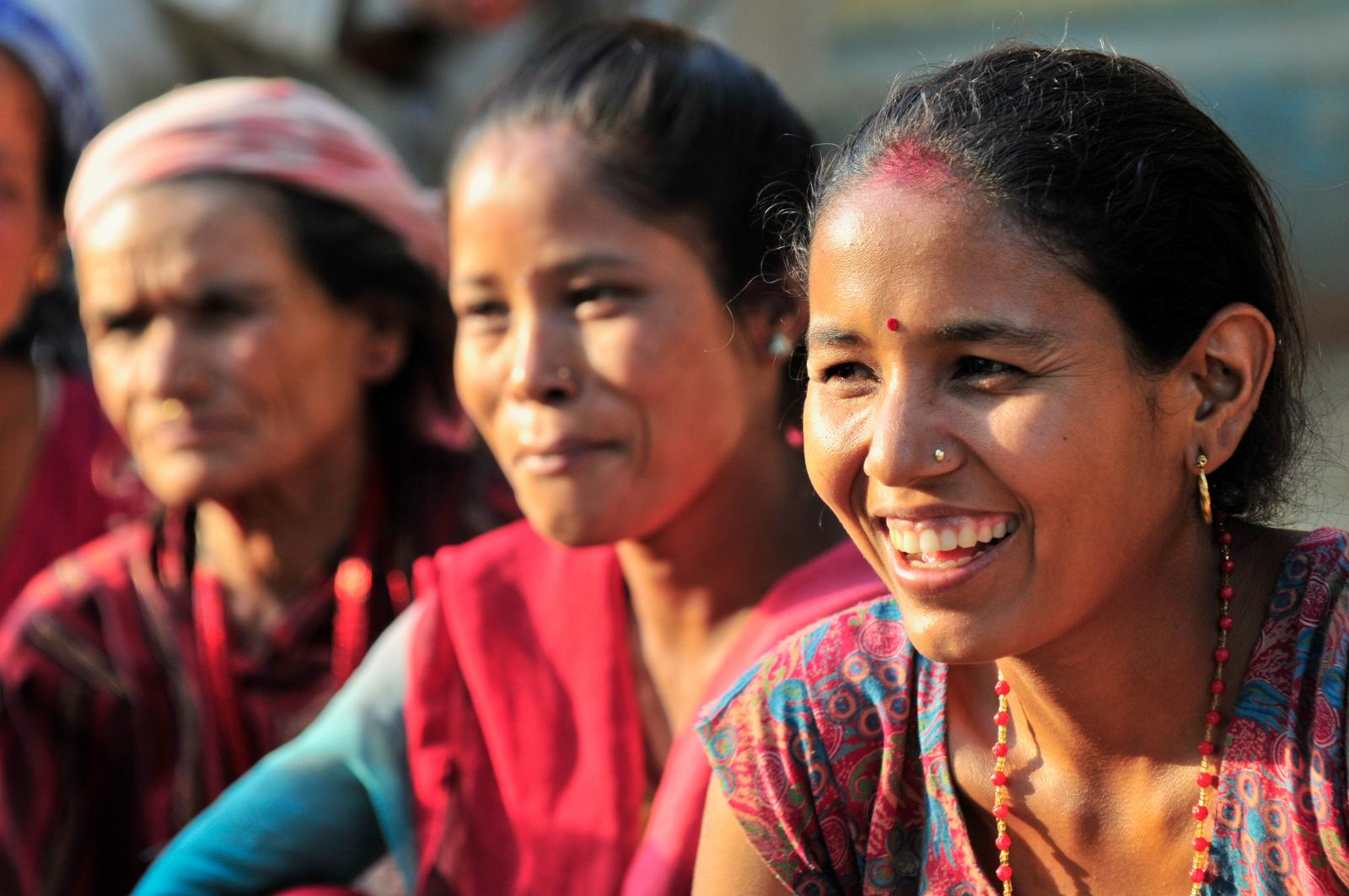 Women Leading Relief Efforts in Nepal