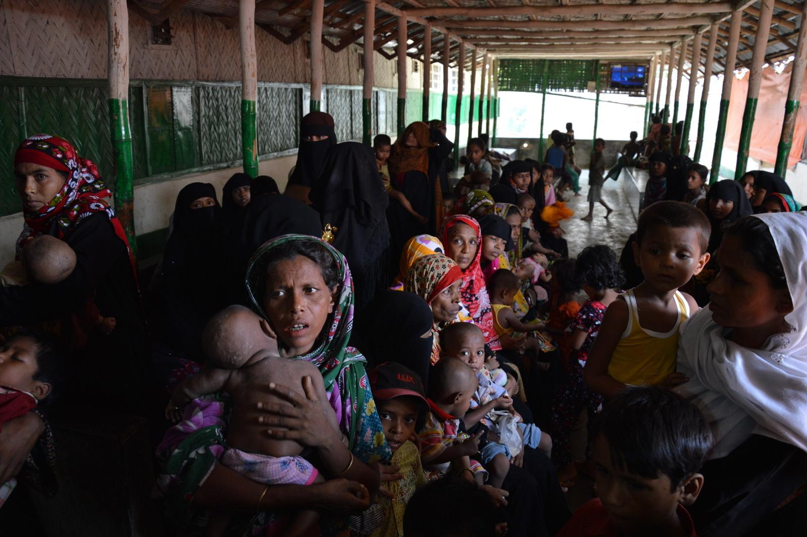 Flight of the Rohingya
