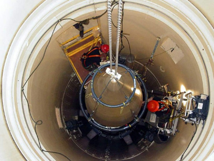 By developing nuclear weapons, a state arguably puts its own citizens at more risk than if it hadn't. (Photo: John Parie / U.S. Air Force)
