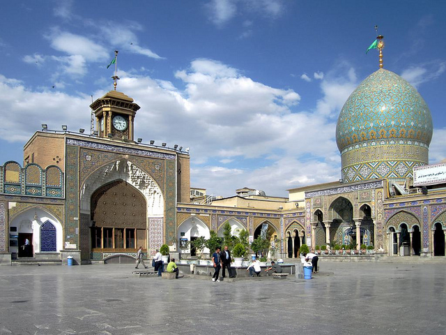 Jason Rezaian pushed his luck with Tehran by remaining in Iran. Pictured: the Holy Shrine of Abdulazim. (Photo: David Stanley / Flickr Commons)