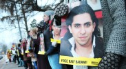 Photo: Demonstration outside the Saudi embassy in Helsinki, Finland on behalf of Raif Badawi (courtesy of Amnesty Finland via Flickr).