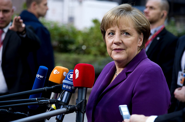 Berlin is committed to dismissing the West-vs-Rest theme. Pictured: German Chancellor Angela Merkel. (Photo: European Council / Flickr Commons)