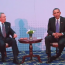 President Obama meets with Cuban President Raul Castro