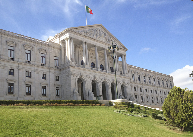 The Parliament of Portugal. (Photo: Simon Collison)
