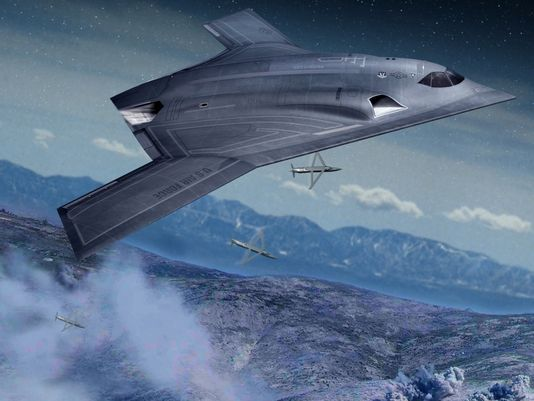 The cost of the new Long Range Strategic Bomber is staggering. (Image: Northrop Grumman)