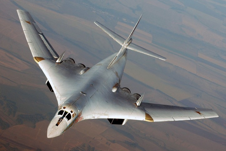 Pictured: a Russian Tu-160 Blackjack, one of the planes Russia is using to bomb the Islamic State. (Photo: Poder Aereo)