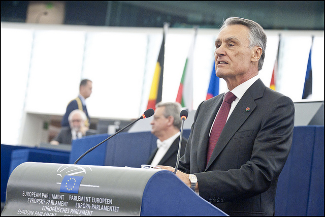Despite a left majority in the parliament, Portugal's President Aníbal Cavaco Silva reappointed the right-wing alliance's leader, Pedro Coelho, as prime minister. (Photo: © European Union 2013 — European Parliament / Flickr Commons)