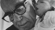 Dr. Benjamin Spock was the head of SANE when it fractured over whether to continue focusing on nuclear war or ending the Vietnam War. (Photo: Thomas R. Koeniges / Public domain)