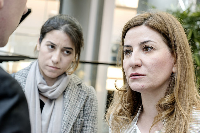 A line can be traced between the vote for the Iraq War and the enslavement of women, such as Yazidis pictured, by the Islamic State. (Photo: European Parliament / Flickr)