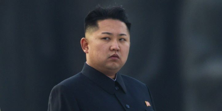 Using federal debts as an excuse, Trump would withdraw American troops from the Far East, where they would be exposed to a North Korean nuclear attack. Pictured: North Korean leader Kim Jong-un. (Photo: Huffington Post)