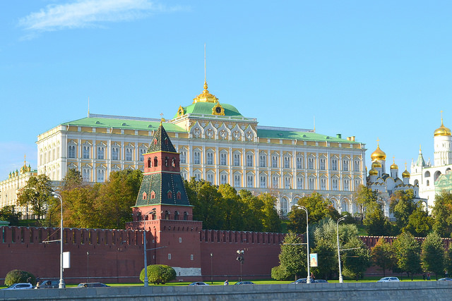 To Gorbachev, national security for Russia could only be achieved by cooperating with other nations, including the United States. Pictured: the Kremlin. (Photo: Larry Koester / Flickr Commons)