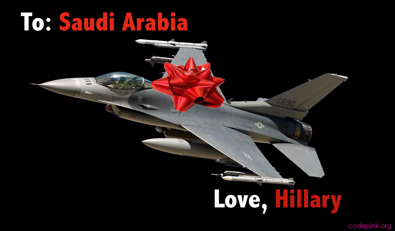 Hillary Clinton's State Department Armed Saudi Arabia to the Teeth