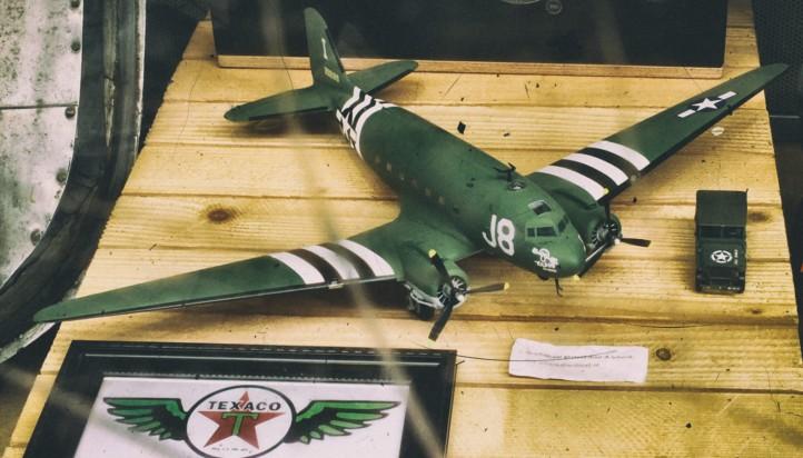 texaco-airplane-model