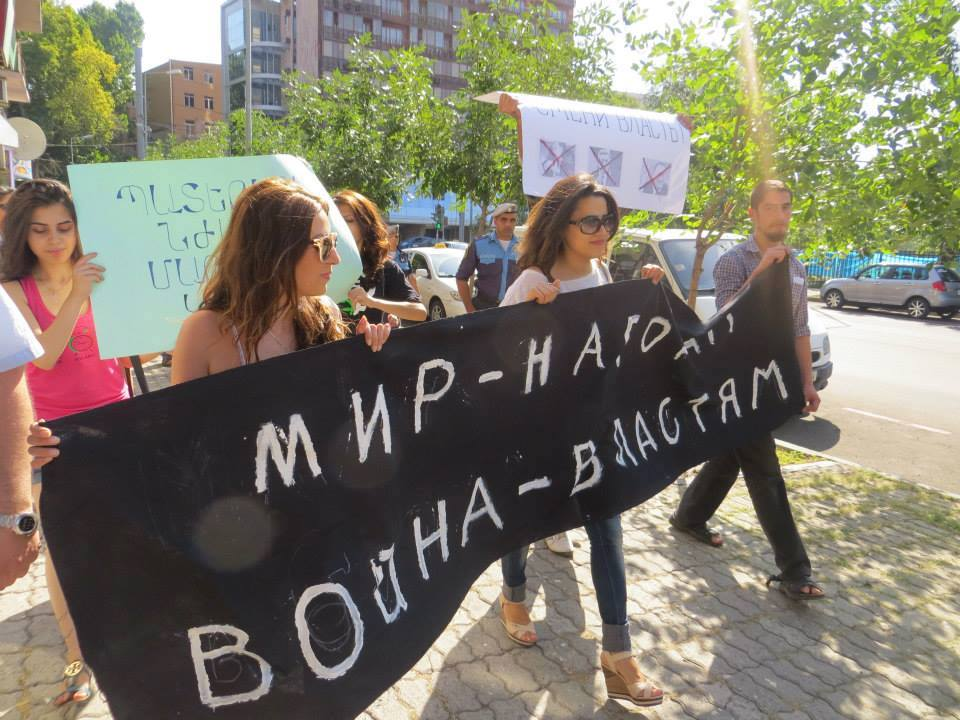 Women Call for an End to Violence in Nagorno-Karabakh