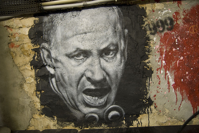 Israeli officials have forfeited the moral high ground in their denunciations of Palestinians. Pictured: Prime Minister Benjamin Netanyahu. (Photo: Thierry Ehrmann / Flickr Commons)