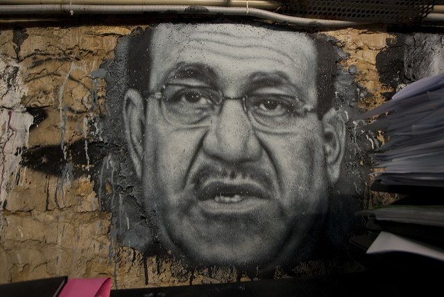 Former Prime Minister Nouri al-Maliki leads an obstructionist parliament familiar to those watching Republicans in U.S. Congress. (Photo: Thierry Ehrmann / Flickr Commons)