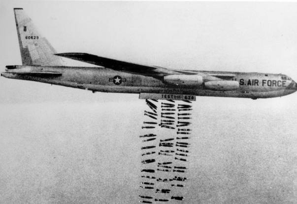Vietnam War bombs Public Domain