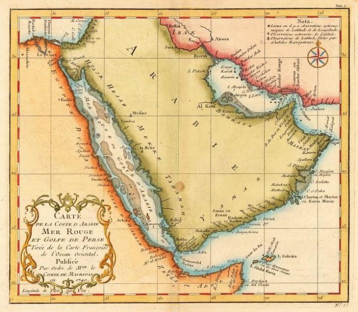 Arab map
