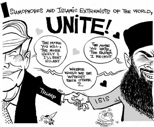 khalil-Radical-Haters-unite-donald-trump-isis