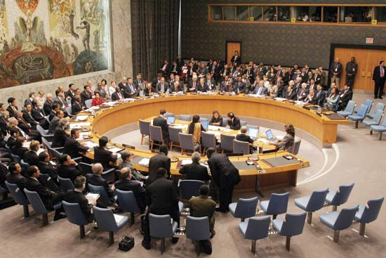 Nature abhors a vacuum and when the UN National Security Council fails to act, the U.S. jumps into the breach – often to disastrous effect. (Photo: Britannica)