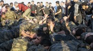 Burned by coups in the past, Turks prefer even autocratic President Erdogan to military rule. Pictured: Soldiers involved in the Turkish coup surrender. (Photo: Ynet News)