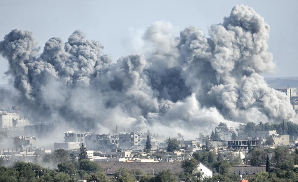 syria-strikes-bombing-kobane