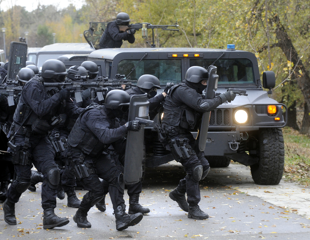 The Police and the Pentagon Are Bringing Our Wars Home