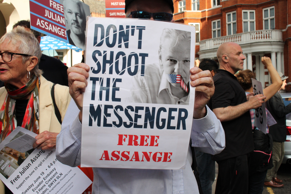 The Case Against WikiLeaks Is a Crisis for the First Amendment